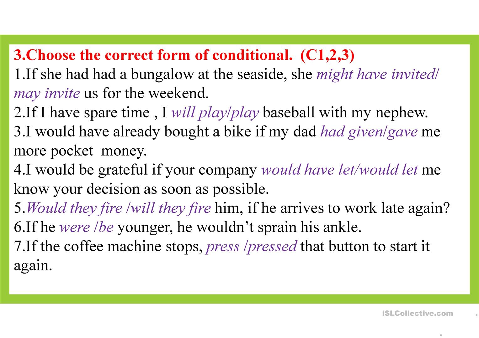 Conditional Structure