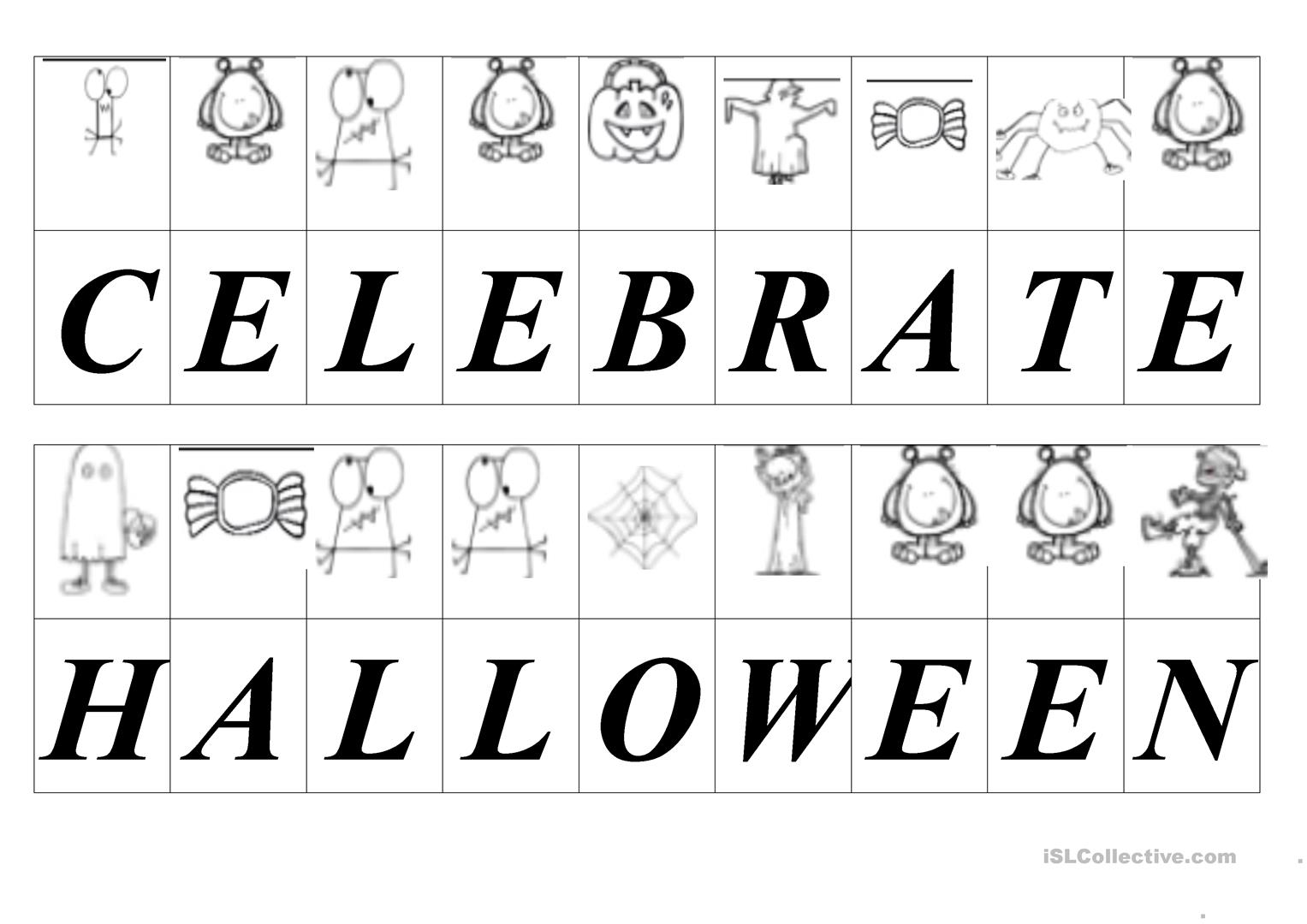 Halloween Secret Message Decoding