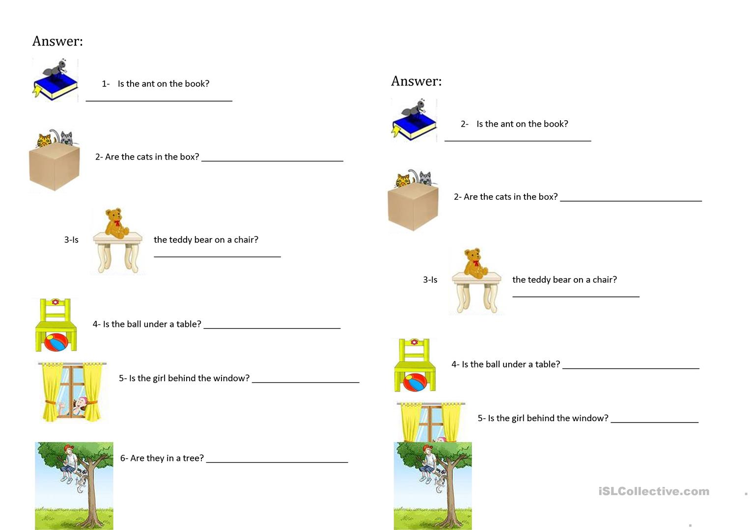 Yes No Questions With Prepositions