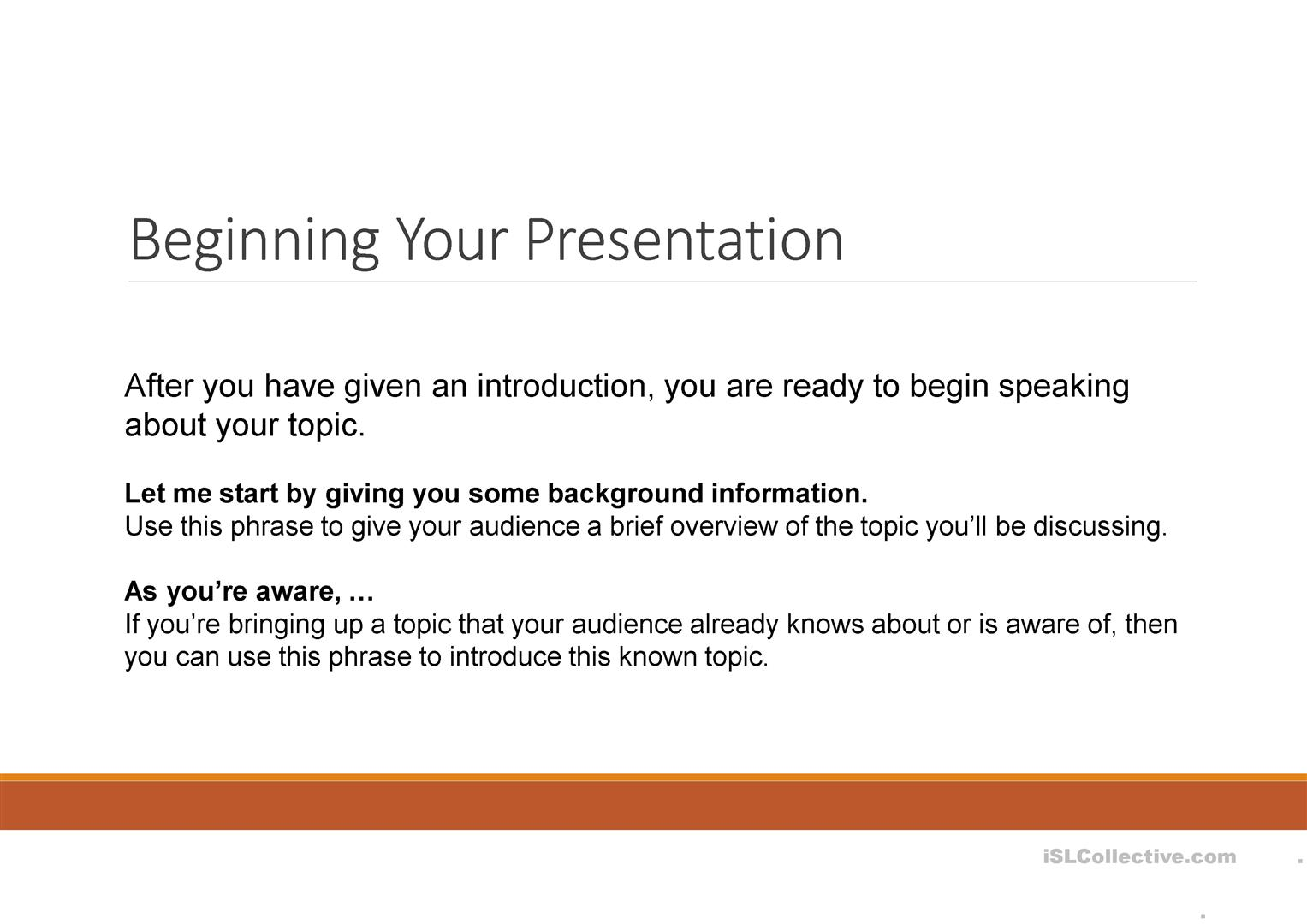 Functional Language For Presentations