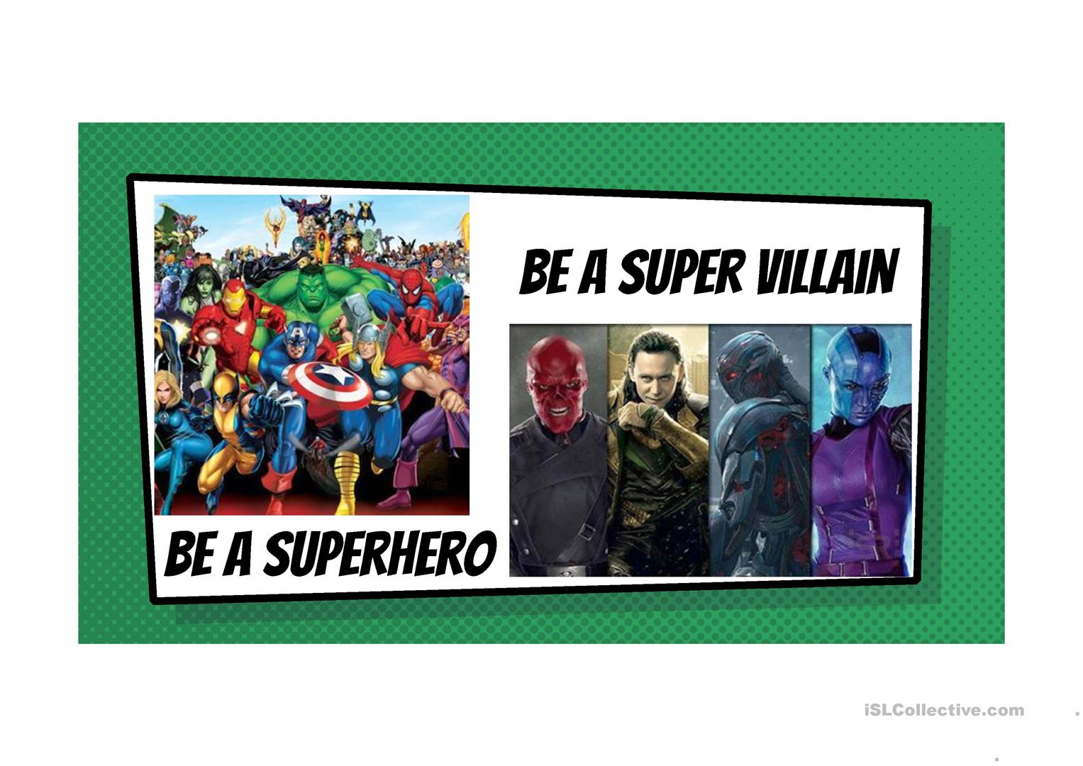 Would You Rather Superhero Edition
