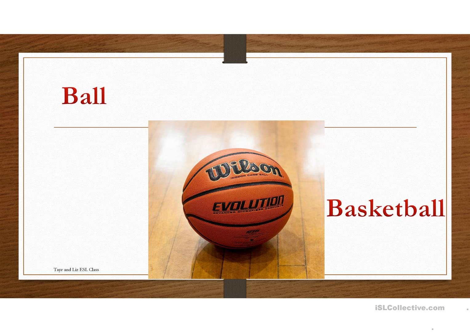 Sports And Equipment Game