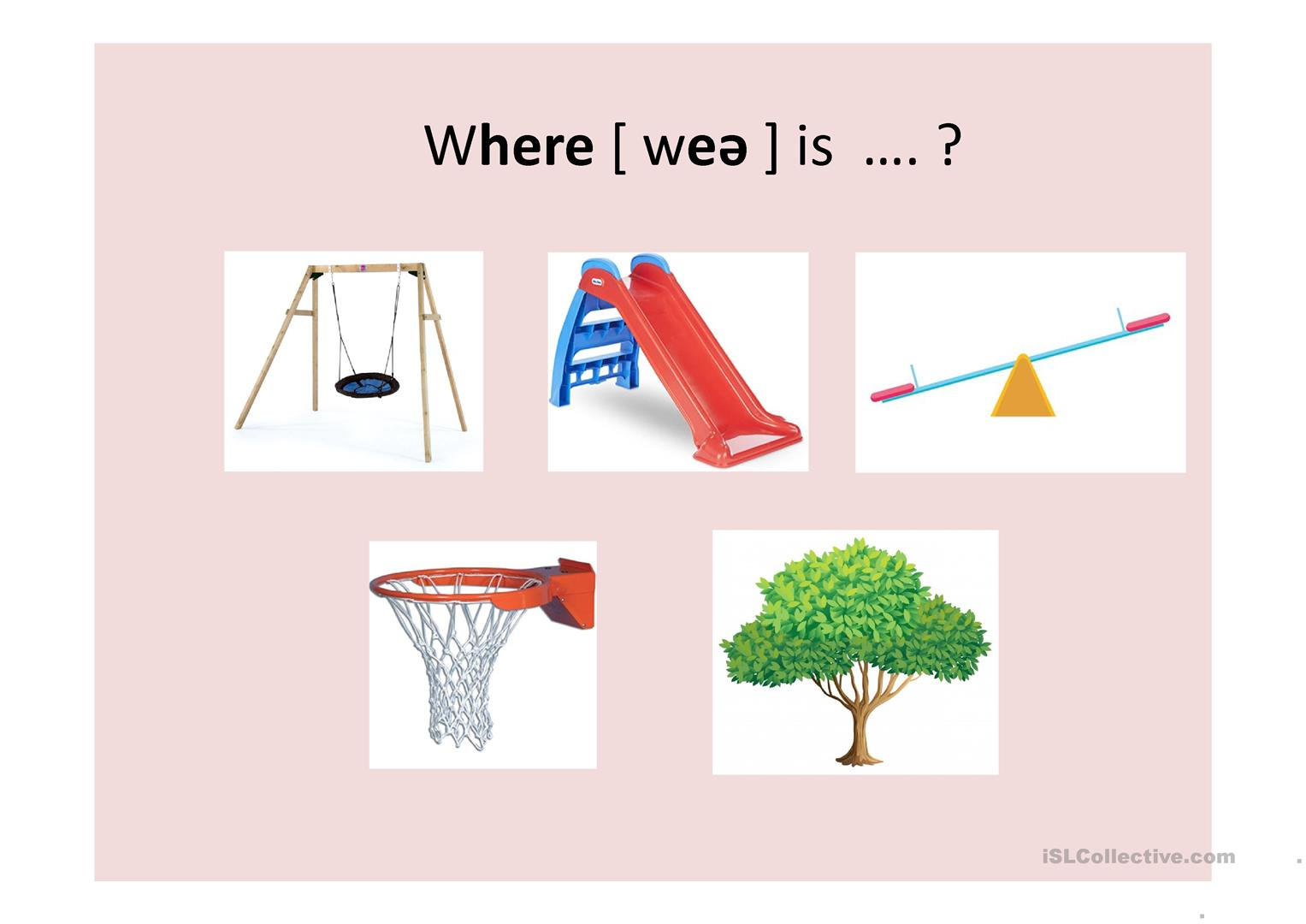 Preposition In On Under And Long Short Vowels