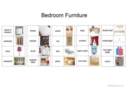 spanish words for bedroom items bedroom style ideas