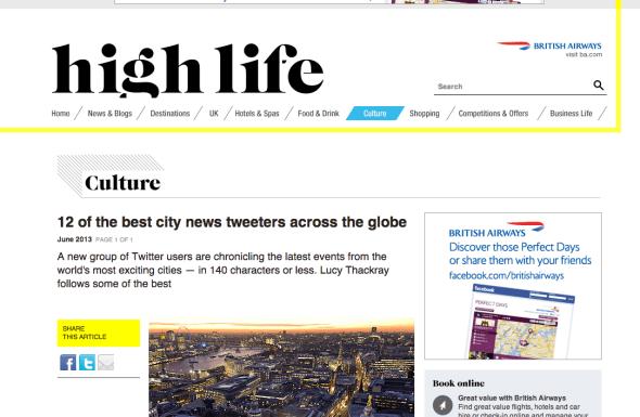 High Life June 2013