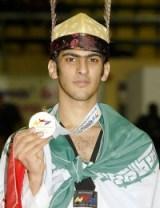 Farzad Abdollahi, Iran, -80 Kg.