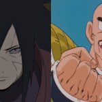 In spite of everything, did Masashi Kishimoto actually say that Madara in Naruto Shippuden is as sturdy as Nappa?