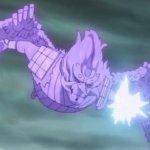 That is the true power of Sasuke's Susanoo on the finish of Naruto Shippuden
