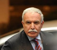 """PNA Foreign Affairs minister Riad al Malki made the announcement on the """"Voice of Palestine""""."""