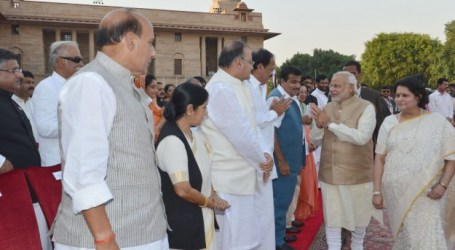 INDIA'S MODI MEETS PAKISTAN PM, OTHER SOUTH ASIA LEADERS