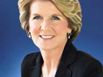 AUSTRALIAN FM JULIE BISHOP EXTENDS RAMADAN GREETINGS TO MUSLIMS