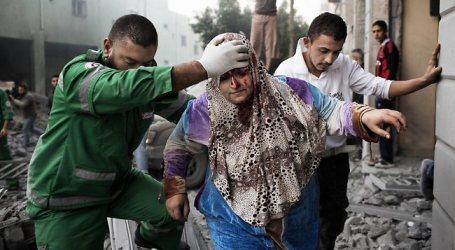 ABBAS DECLARES GAZA 'HUMANITARIAN DISASTER ZONE'