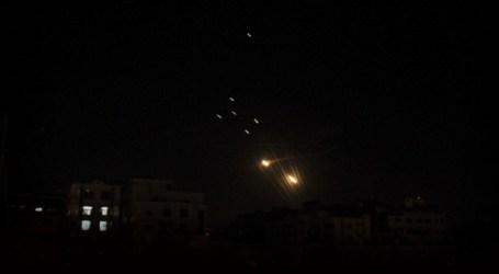 JERUSALEM STRUCK BY GAZA ROCKETS