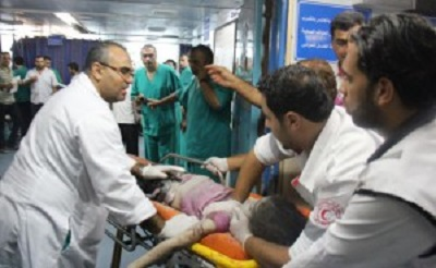 NINETEENTH DAY OF ISRAELI AGGRESSION, 815 PEOPLE DIED AND 5,240 OTHER WOUNDED