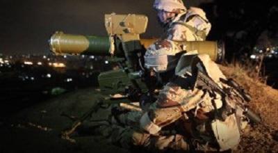 AL-QASSAM'S ROCKET RUINS ISRAELI OCCUPATION TANK