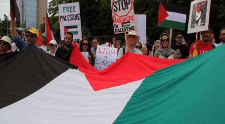 PROTESTERS SLAM UN SILENCE ON PALESTINE