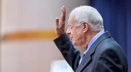 JIMMY CARTER CALLS ON WEST TO RECOGNIZE HAMAS