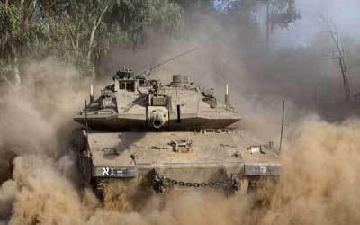 ISRAELI FORCES ENTER GAZA FOR THIRD TIME SINCE THE TRUCE