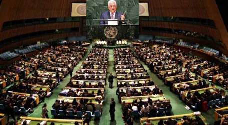 """PALESTINE 'S NEW APPEAL TO UN GENERAL ASSEMBLY: """"END ISRAELI OCCUPATION NOW!"""""""