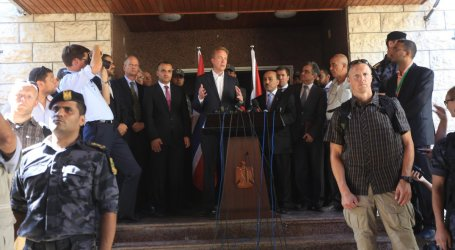 NORWAY FM DISCUSSES GAZA RECONSTRUCTION
