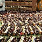 World leaders gathered at the UN General Assembly