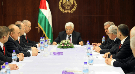 PALESTINIANS CAPABLE TO RUN GOVERNMENT AFTER ACHIEVING INDEPENDENCE