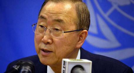 BAN KI-MOON CONCERNED ABOUT ISRAELI AGRGRESSION ON AL-AQSA
