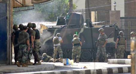 LEBANESE ARMY CRACKS DOWN ON 'ISIL SUSPECTS'
