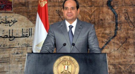 AL-SISI 'EXTENDED HAND' TO MUSLIM BROTHERHOOD 'BUT THEY REJECTED IT'