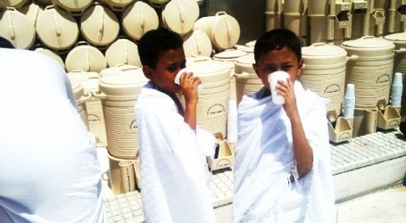 THE SIGNIFICANCE OF THE ADAB OF DRINKING ZAMZAM
