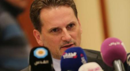UNRWA COMMISSIONER GENERAL SAID GAZA RECONSTRUCTION PROCEDURE TOO SLOW