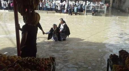 UNRWA: GAZA EMERGENCY DUE TO EXTREME WEATHER AND FLOODING