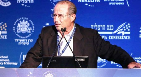 FORMER MOSSAD CHIEF FEARS FOR 'FUTURE OF THE ZIONIST PROJECT'