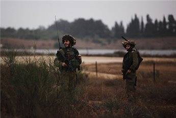 ISRAELI FORCES DETAIN 14 IN VILLAGE NEAR QALQILIYA