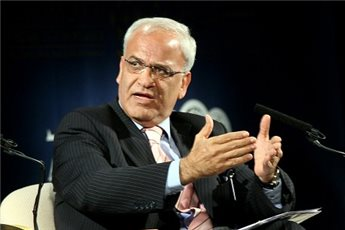 Erekat Says US, Israel Collaborating to Destroy Two-State Solution