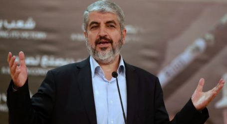 NETANYAHU PLAYS WITH FIRE IN AL-AQSA: MESHAAL