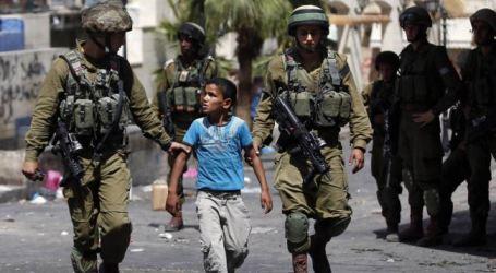 ISRAEL DETAINS OVER 1,000 PALESTINIAN KIDS IN 2014