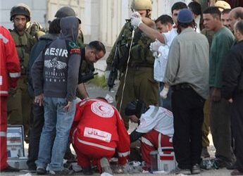 EXTREMIST JEWISH SETTLER RUNS OVER SEVEN YEAR OLD PALESTINIAN CHILD