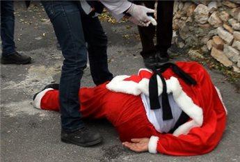 ISRAELI FORCES SUPPRESS CHRISTMAS MARCH IN BETHLEHEM
