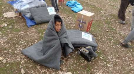 WINTER COMES, WFP SUSPENDS FOOD AID FOR 1.7 MLN SYRIAN REFUGEES
