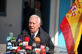 SPANISH FM: WE ARE WORKING ON LIFTING THE SIEGE ON GAZA