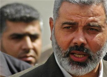 HANIYEH CRITICIZES PA FOR NOT SPENDING FAIR AMOUNT OF BUDGET ON GAZA