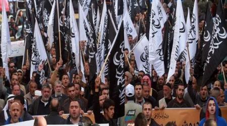 THOUSANDS OF PALESTINIANS PROTEST CHARLIE HEBDO CARTOON