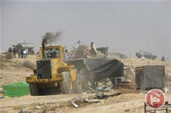 ISRAELI DEMOLITIONS LEAVE 4 BEDOUIN FAMILIES HOMELESS IN NEGEV
