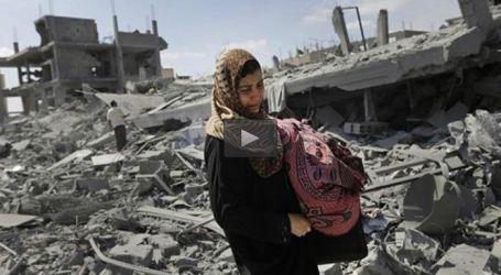 IRANIAN CHARITY DISTRIBUTES FOOD AMONG GAZANS