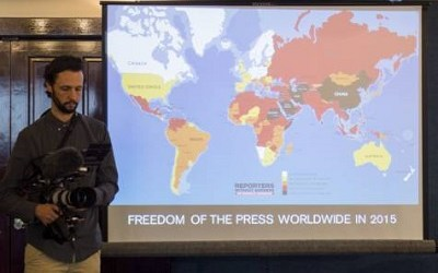 'DRASTIC DECLINE' IN MEDIA FREEDOM WORLDWIDE