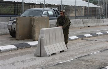 ISRAELI FORCES IMPOSE SECURITY RESTRICTIONS ON NABLUS