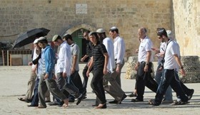 200 EXTREMIST ZIONIST SETTLERS STORMED AQSA MOSQUE LAST WEEK