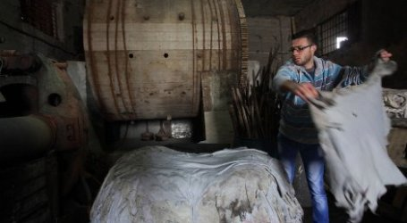 PALESTINIAN TANNERIES AT RISK OF CLOSURE DUE TO ISRAELI RESTRICTIONS