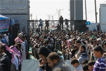 EGYPT OPENS RAFAH CROSSING FOR 2 DAYS